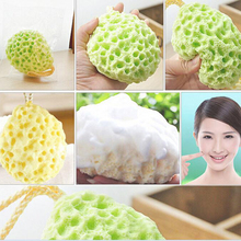 Top Selling Bath Ball Sponge Mesh Exfoliating Body For Bathroom Cleaning Scrub Exfoliate Scrubber Skin Care  Bath Flower