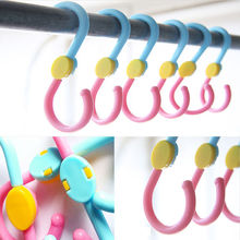 3pcs/lot  Quality S Hook 360 Degree Rotation Multi-Fonction Clothes Hanger Hooks