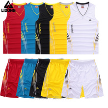 2017 DIY men basketball jerseys tracksuits training uniforms breathable comfortable cheap colleage team basketball kits 5 colors