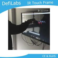 "DefiLabs 84"" IR Infrared Touch Screen Frame without glass for shop window Lightweight. Transparency and high-resolution;(China)"