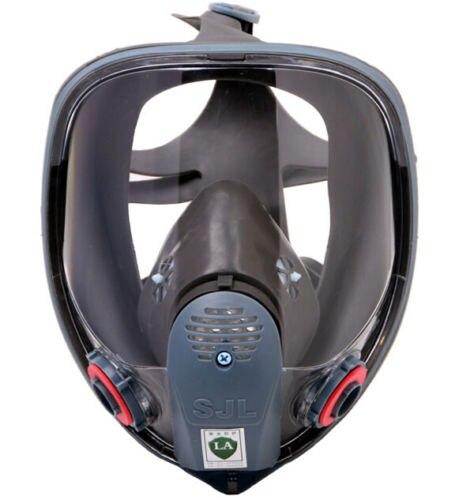 SJL 6800 Full Face Gas Mask Facepiece Respirator Spraying Paint<br>