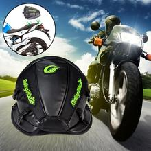 2017 Hot PU Leather Waterproof Handbag Backpack Motorcycle Oil Tank Bag Motorbike Travel Tool Tail Bags Luggage