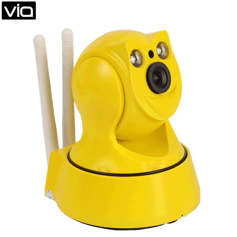 HS-9100 Direct Factory Smart IP Camera with Pan Tilt 720 Detected Motion ALARM APP Support PTZ Control <br>