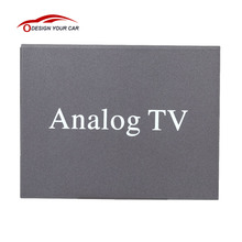 Super Mini Metal Design DVB Car DVD TV Box Receiver Easy Installation Monitor Analog TV Tuner Strong Signal Box with Antenna