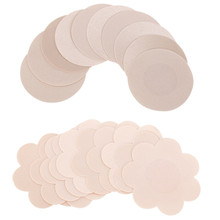Disposable 5 Pairs Nipple Covers Pads Patches Self Adhesive Wedding Dress H89
