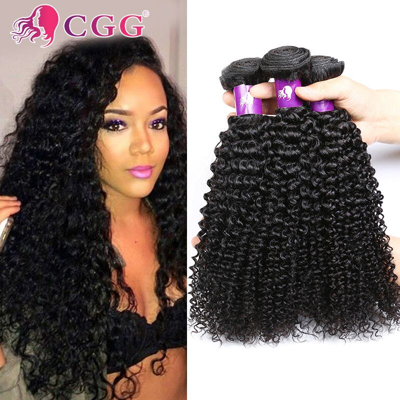 Raw Virgin Indian Kinky Curly Hair Extensions 8A Unprocessed Indian Curly Virgin Hair 4 Bundles Indian Virgin Curly Hair Weave<br><br>Aliexpress