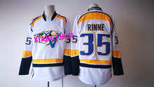 Free shipping 2017 High Quality New Style Ice Hockey Jerseys RINNE #35