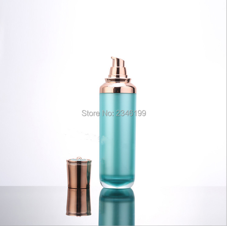 Cream Jar 50g Lotion Pump Blue Emulsion Pump 100ml Cosmetic Container Empty Cream Jar Plastic Cream Bottle Lotion Bottle (7)