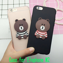 Buy 3D Coque Cute Bear Case Elephone M2 Back Cover Soft Silicone Cute Cartoon Phone Cases Capa Funda Shell Bags for $1.89 in AliExpress store