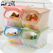 Rice Kitchen Storage Box Large Capacity Organizer Grain Storage Container Cereal Bean Container Sealed Box Storage Sealing Jar
