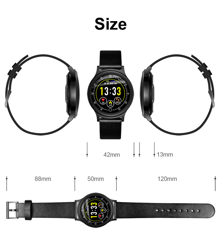 COLMI Fashion Smart watch Round Screen Clock IP68 Waterproof Men Fitness Activity Tracker Bluetooth Women Smartwatch For Android IOS _15