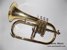 Bb Flugelhorn Monel Piston with case and Mouthpiece Flugel Horn Musical instruments Shipping time 8-13days