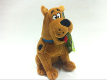 1Pcs/set Kawaii Scooby Doo Dog Plush Dolls Cute Stuffed Animals Kids Soft Toys 18 CM
