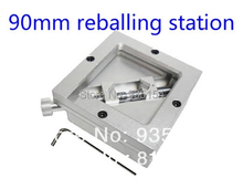 90*90mm bga reballing station,universal bga solder station/reball station.for bga rework station(China)