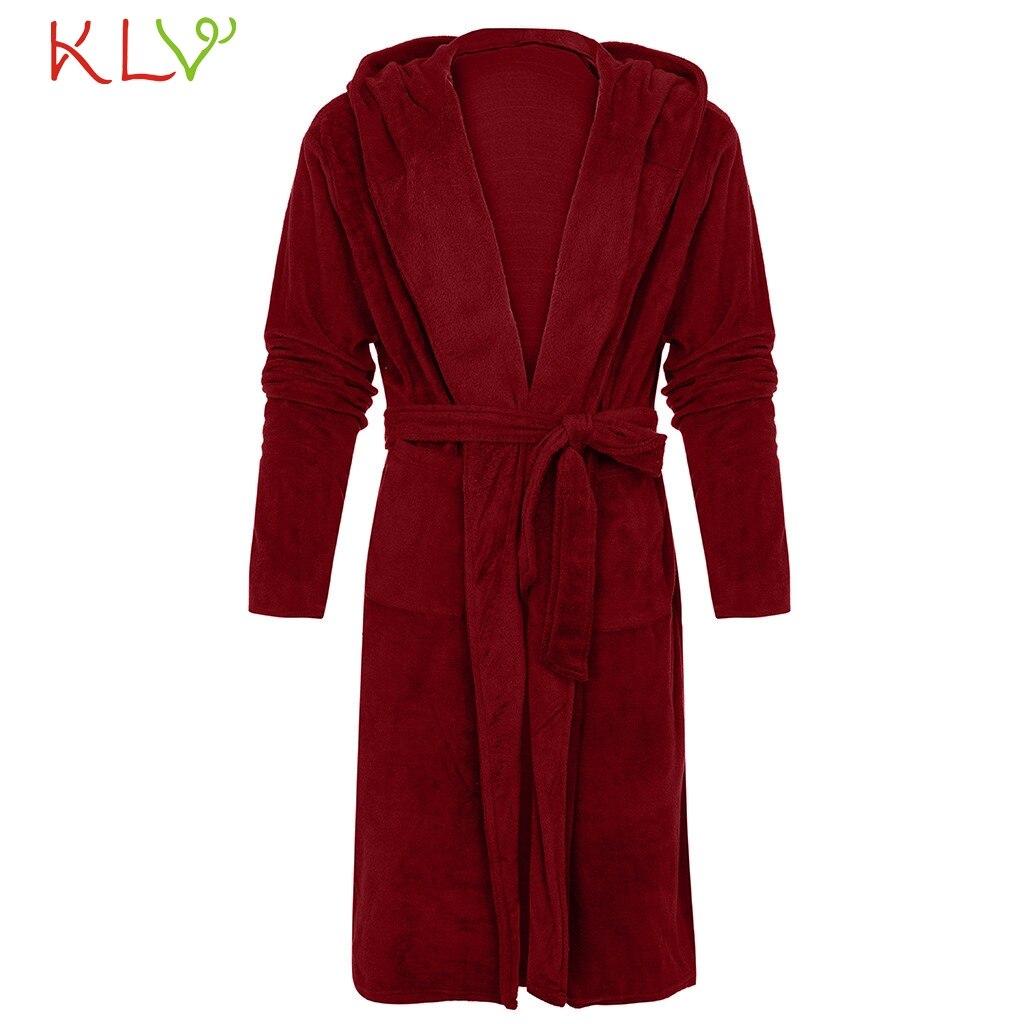 Women Robe Sexy 5XL Winter Plush Lengthened Shawl Bathrobe Home ... 6ddab8008