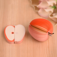 10pcs/pack Cute Notes Creative DIY Apple Fruit Memo Pads Scratch Paper School Office Supplies Stationery Children Gift
