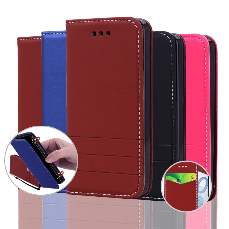 Leather Case For Xiaomi Redmi 3S Flip Wallet Cases for redmi 3 S Pro Stand Phone Bags Cover for Xiaomi Redmi 3 Pro Coque Luxury(China)