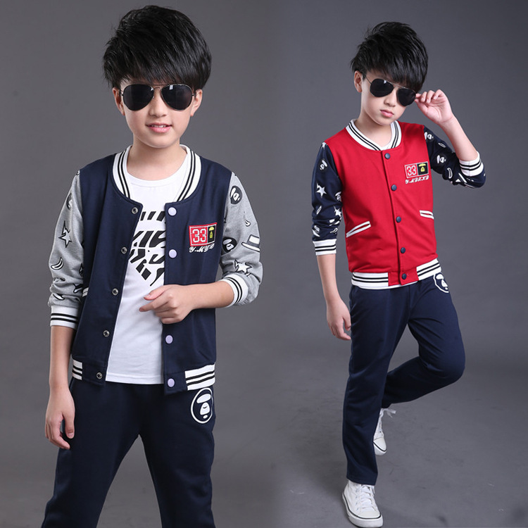 Childrens Clothing Sets Spring Autumn Baby Boys&amp; Girl 2piece Suit Set Sport Suit Sets Tracksuits Hoody Jackets+trousers B204<br>
