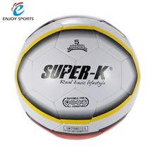Super-K Football Soccer Ball Size Training Ball Street Rubber 5 PVC Soccer Kids Soccer Ball