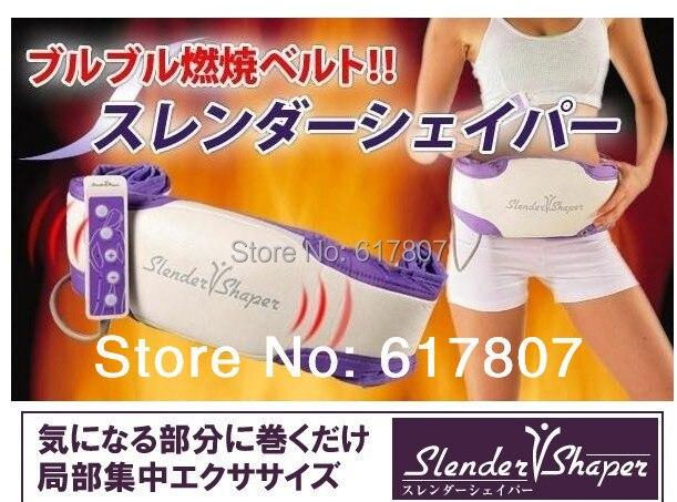 Free Shipping Slender shape Slimming belt, Slender Shaper with vibrating function, Massage belt fat burning<br>