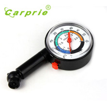 Hot New Auto Motor Car Truck Bike Tyre Tire Air Pressure Gauge Dial Meter Vehicle Tester march24(China)