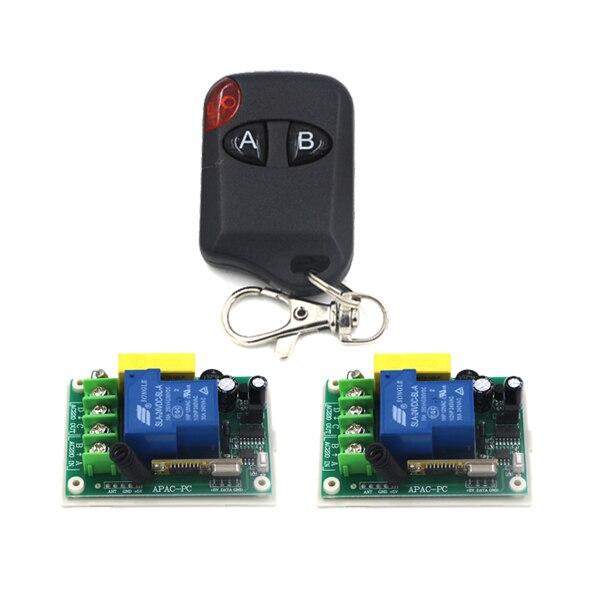 AC220V 30A Digital Remote Control Switch Jog/ Self-lock/ Inter-lock 3 Working Ways Adjusted Learning Code SKU: 5229<br><br>Aliexpress