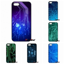 For iPhone 4 4S 5 5C SE 6 6S 7 Plus Samsung Galaxy Grand Core Prime Alpha computer battery phone Circuit Board Caes Cover