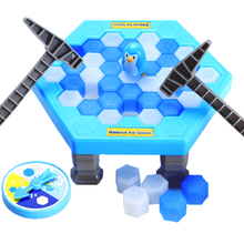 Penguin trap Game toys Ice Breaking Game Table Penguins Entertainment Toy for Kids Family Fun game Balance Practice #EA(China)