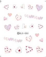 1 Pc Manicure Watermark Sticker Accessories Decal Sticker DLS093-104 Korea Manicure Nail Sticker