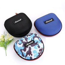 Buy Headphones Carrying Case Portable Storage Carrying Hard Box Headphones Accessories Case Marshall Headphones 16*15*8cm for $7.90 in AliExpress store