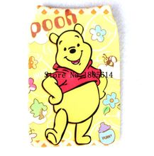 50Pcs fashion lovely Bear Mobile Phone case cover holder sock pouch skin sleeve for LARGE PHONE MultiColor