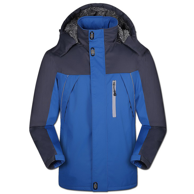 2017 Thicken Winter Jacket Men Waterproof Fashion Wear Windproof Hooded Jacket and Coats for Male Brand Clothing Big Size 5XL