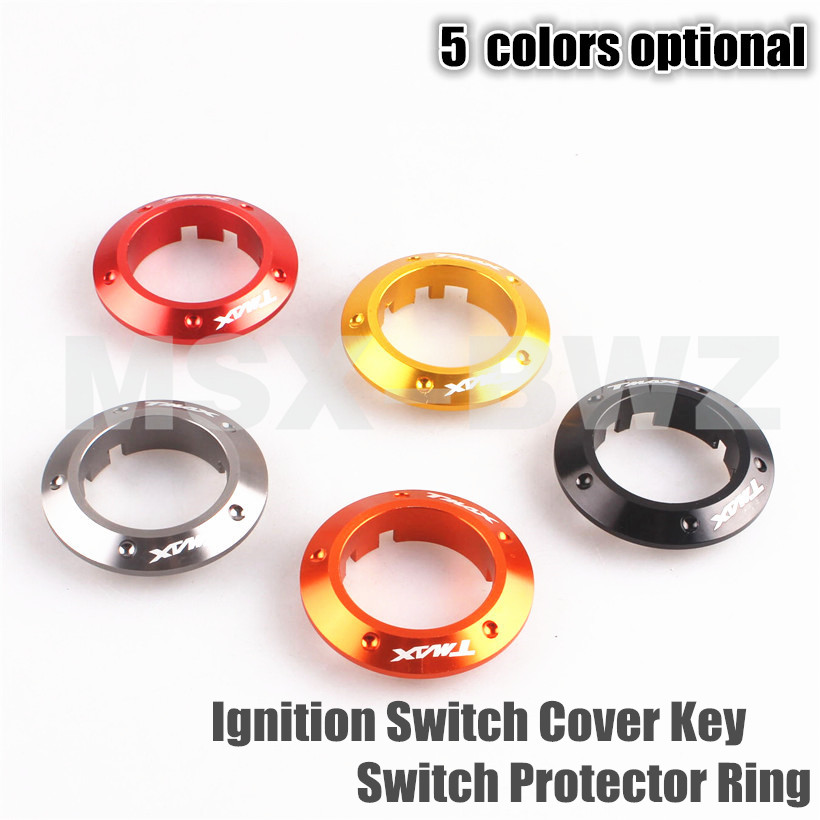 Motorcycle Ignition Switch Cover Key Switch Protector Ring for Yamaha TMAX 530 2013 2014 2015 New 5 Colors<br><br>Aliexpress