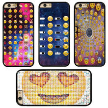 0125 Emoji Designs cell phone bags case cover for iphone 4S 5S 5C SE 6S 7 PLUS Samsung S3 S4 S5 S6 S7 S6PLUS NOTE IPOD 4 5 6