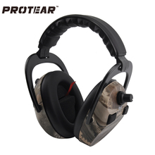 Russian Warehouse Protear Electronic Ear Protection Shooting Hunting Ear Muff Tactical Headset Hearing Ear Muffs for Hunting