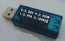 NoEnName_Null 1.04 inch OLED Display USB Tester for Voltage Current Power Capacity