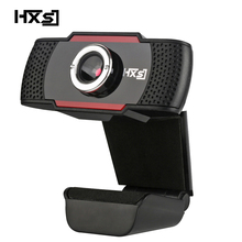 HXSJ S20 Webcam HD 480P PC Camera with Absorption Microphone MIC for Skype for Android TV Rotatable Computer Camera USB Web Cam(China)