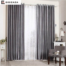 Honey velvet polyester fabric window curtains shiny  face black out blinds process finish size for living room chocolate color