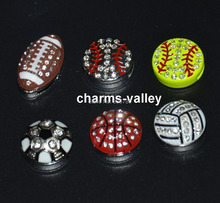 Newest Design! 50PCS 8MM Mixed Style Rhinestone Balls Slide Charms Fit 8mm Wristband Belt Key chains Phone Strips