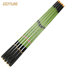 Goture Telescopic Carp Fishing Rod Carbon Fiber Fishing Pole Hard Stream Rod Hand Pole 3.6 4.5 5.4 6.3 7.2Meter
