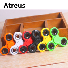 Atreus Car styling Fingertip Gyro Decompression Anxiety Stress Sticker toy for For BMW E46 E39 E90 E60 Audi A3 A4 B6 B8 TT S5 S6(China)