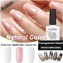10ML /Pcs Health Color Transparent Black Silk Stocking Nail Polish Varnish Gel Soak Off Manicure Nail Art UV Gel