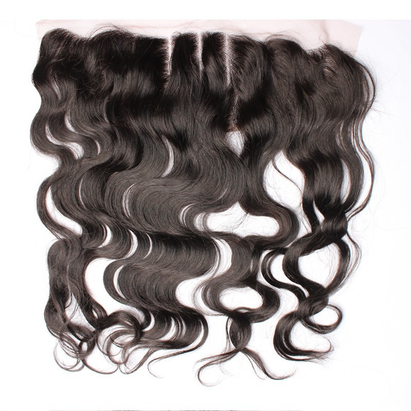 8A Cambodian Virgin Hair Lace Frontals Closure Bleached Knots 3 part way 13x4 Body Wave French Lace Frontal Unprocessed Hair<br><br>Aliexpress