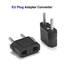 European Euro EU Plug Adapter 2 Pin US American China To Europe EU Travel Power Adapter Plug Outlet Converter Socket