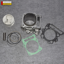 CYLINDER ASSY SET INCLUDE PISTON  PISTON PIN  PISTON RING  GASKET FOR HISUN 700CC ATV ENGINE PARTS