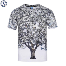 Mr.BaoLong 2018 newest design men's t-shirt Funny America Dollar tree 3D printed round Neck t-shirt male Hot sale NT16(China)