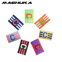 MACHUKA Football Elastic Fabric Captain Armband Stripe Hockey Rugby Sports Adjustable Games Tournament Soccer Captain Armbands(China)