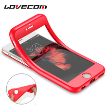 Buy LOVECOM New arrival Full Body Protective Phone Case iPhone 6S 6 7 Plus Protect Soft Silicone TPU Flexible Back Cover Coque for $1.99 in AliExpress store