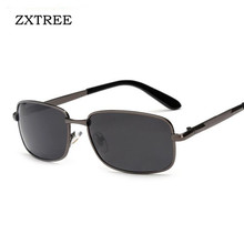 ZXTREE Classic Men Sunglasses HD Polarized Goggles TR90 Rectangle Man Sport Outdoor Sun Glass Mens Fashion Glasses Trends 2017
