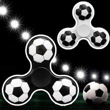 2017 Three Triangle Foot Ball Hand Spinner Focus Gyro Toys Finger Spinner spiner ADHD Anti Stress Autism EDC Toy For Child&Adult